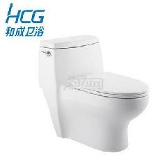 HCG和成卫浴喷射虹吸连体座便器单体省水抽水马桶坐便器C660NT