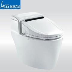 HCG和成卫浴 陶瓷连体省水马桶C4600 智能盖马桶