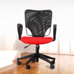 欣瑞源 可升降旋轉 電腦辦公椅 經典電腦椅 雙色可選 坐墊紅 2634辦公椅