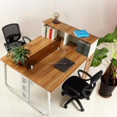 欣瑞源 现代简约 钢木组合 职员 办公桌 隔断桌 2755 桌长180cm