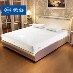 爱舒 床垫 席梦思 七区天然乳胶 独立弹簧 可拆洗面料 双人床垫 【舒心L型】