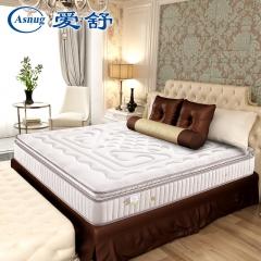 爱舒 床垫 席梦思 天然乳胶 软硬两用 1.5 1.8单双人床垫 【舒情六型】