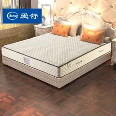 爱舒 床垫 席梦思 天然乳胶 弹簧床垫 软硬两用 1.5 1.8床垫【舒情三型】