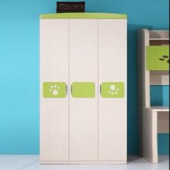 全友家私 青少年 儿童 卧室 家具 6325 三门衣柜