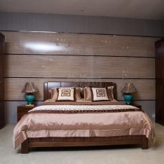 雙喜 胡桃木 1.8米床 H001