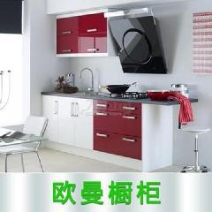 歐曼櫥柜 烤漆面板系列上柜+下柜 (不含臺面) 現代風