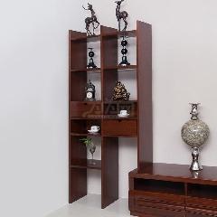 瑞丰怡嘉810-2 奥克榄 非洲红胡桃木 厅柜 高柜 装饰柜 酒柜