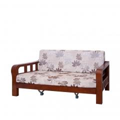 天開 橡膠木 布藝客廳 沙發床