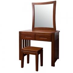 傲吉 栾叶苏木  卧室 全实木 梳妆台(含凳) 901