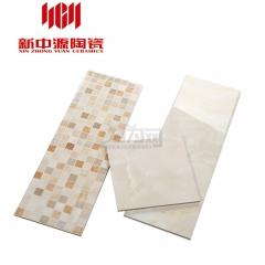 新中源 瓷片廚房衛生間瓷磚防滑地磚墻面磚浴室廚衛瓷磚極美25023 250*750/300*300