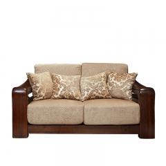 美诚美诺 客厅 油楠木 沙发组合 双人沙发 D135