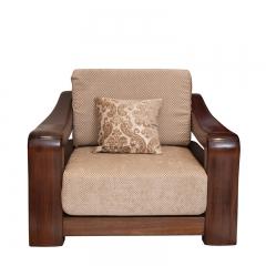 美诚美诺 客厅 油楠木 沙发组合 单人沙发 D135
