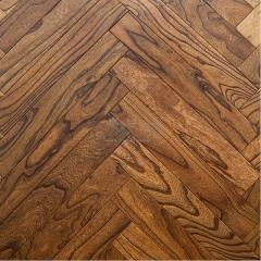 美实在地板 实木复合地板 榆木人字拼 如图 平方米