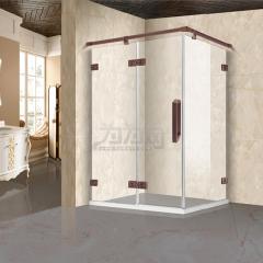 鼎豪淋浴房 红古铜雕花两固一开 K-A601 平方米