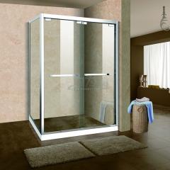 鼎豪淋浴房 直角兩移門 T-W708 平方米
