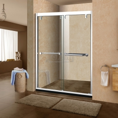 鼎豪淋浴房 直角緩沖兩移門 T-W720 平方米