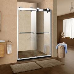 鼎豪淋浴房 不銹鋼兩移門 T-W728 平方米