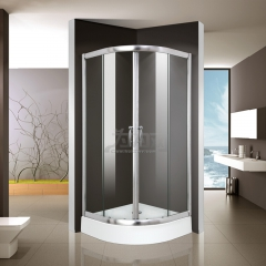 鼎豪淋浴房 两固两移圆弧淋浴房 D-A02 平方米