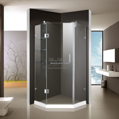 鼎豪淋浴房 平面两固一开 K-A608 平方米