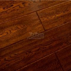 汇丽地板 实木复合地板 新印尼林系列 橡木仿古 F13