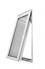 永壮铝业 普铝开窗 磨砂玻璃 定制窗