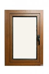 永壯鋁業 60木紋 外開窗 定制窗