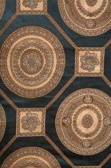 蒂思 客廳臥室 簡歐風格 高精密 窗簾 B2-67 383-3 綠 高2.8米 寬1米