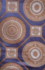 蒂思 客廳臥室 簡歐風格 高精密 窗簾 B2-67 383-2 藍 高2.8米 寬1米