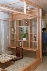 顺展和风-美国红橡木书柜