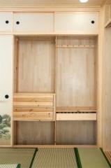 順展和風-杉木衣柜
