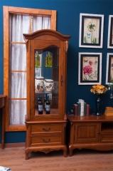 邑美 格林小镇 白橡木+橡胶木 厅柜上部 GL-1516