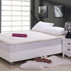 YOGA伊加 羊羔绒 加厚软床垫 1.5米