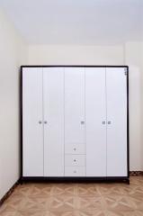 宝莱佳 实木生态板 卧室 红橡木 衣柜 1E05