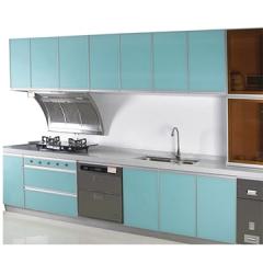 欧曼橱柜 晶钢板系列上柜+下柜 (不含台面) 现代风