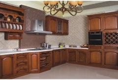 歐曼櫥柜 實木系列上柜+下柜古典風 定制櫥柜