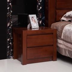 瑞豐怡嘉805-7 奧克欖 非洲紅胡桃木 床頭柜