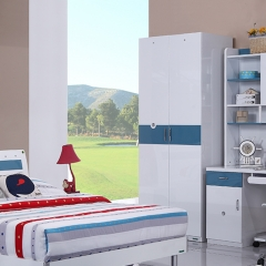 全友家私 青少年 卧室套装 6326 1.5*2m床 床+床头柜*1+床垫组合