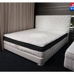 英伦高尔夫 弹簧 乳胶 1.8米 梦露床垫