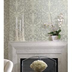 德国艾仕壁纸 皇室英伦风 电视背景墙纸0921客厅卧室欧式纯纸墙纸