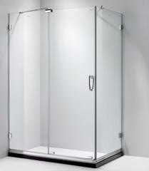 朗斯 利玛E31淋浴房 定制 L型 方形 钢化玻璃 防爆膜