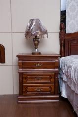 凯纳豪迪 柚木+香樟木 床头柜 Z008-A