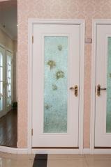 昆榕木门 烤漆 实木复合门 kr-137 (不含五金和玻璃)