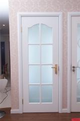 昆榕木门 欧式简约 白色烤漆 实木复合门 kr-202