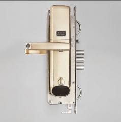 星月神智能电子锁时尚版 指纹密码锁 家用防盗门 进户门 电子门锁