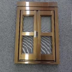 共荣门窗 D型折叠纱门