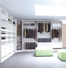 宜科定制家具衣帽间衣柜 步入式衣柜 走入式衣帽间 定制卧室家具 测量设计定金
