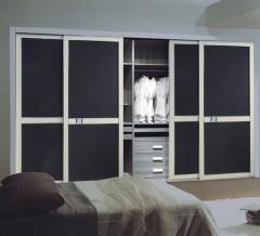 宜科全屋定制家具 卧室定制圣克鲁斯衣柜移门