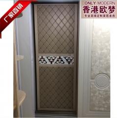 香港欧梦 罗马简约风格 隔断门 衣柜移门