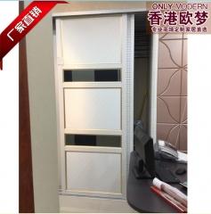 香港欧梦 欧式简约移门 隔断门 衣柜移门