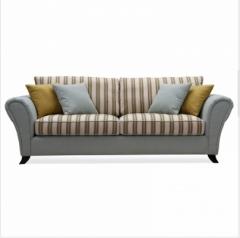 斐亨外贸家具折扣 布艺沙发 进口实木 随心搭配 ks2120 三人位